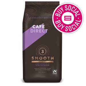CAFÉDIRECT FAIRTRADE SMOOTH ROAST BULK BREW COFFEE (227g) x 6