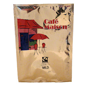 CAFÉ MAISON FAIRTRADE MILD FILTER COFFEE (3-pints) x 50