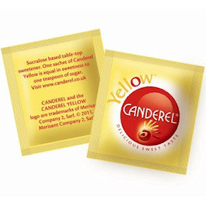 CANDEREL YELLOW LOW CALORIE SWEETENER TABLET SACHETS x 1000