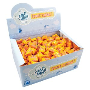 CANDY LAND FRUIT SALAD CHEWS BOX (400)