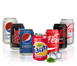 Bulk Buy Canned Drinks Coca Cola Pepsi Tango Sprite
