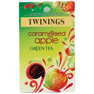 TWININGS CARAMELISED APPLE GREEN (20 bags)