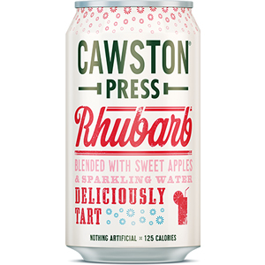 CAWSTON PRESS SPARKLING RHUBARB (330ml) x 24