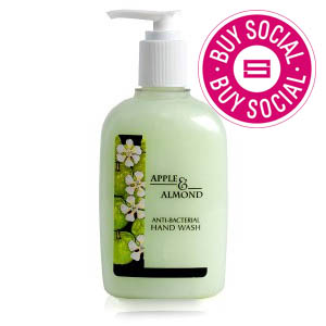 CLARITY ANTIBACTERIAL HAND WASH APPLE & ALMOND (300ml)