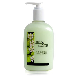 CLARITY ANTIBACTERIAL HAND WASH APPLE & ALMOND (300ml) x 8