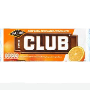 JACOB'S CLUB BISCUIT BARS ORANGE (22g) x 60