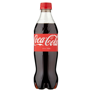 COCA-COLA PLASTIC BOTTLES (500ml) x 24