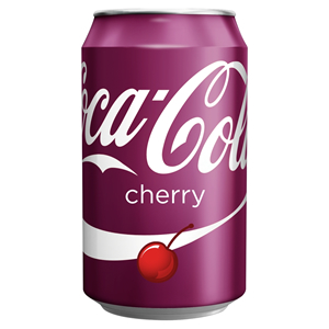 COCA-COLA CHERRY CANS (330ml) x 24