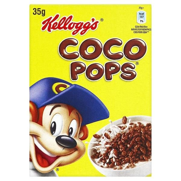 KELLOGG'S COCO POPS INDIVIDUAL PORTIONS (35g) x 40