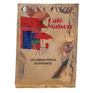 CAFÉ MAISON COLOMBIAN PRINCE DECAFFEINATED FILTER COFFEE (3-pints) x 50