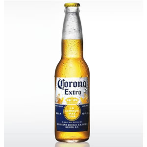 CORONA EXTRA BEER - GLASS BOTTLES (330ml) x 24
