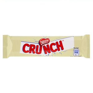NESTLÉ CRUNCH WHITE CHOCOLATE BARS (32g) x 36