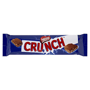 NESTLÉ CRUNCH MILK CHOCOLATE BARS (32g) x 36