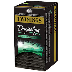 TWININGS DARJEELING TAG & ENVELOPE TEA BAGS (20 bags)