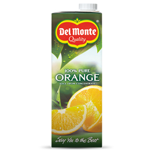 DEL MONTE PURE ORANGE JUICE (1L) x 6