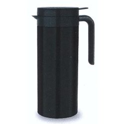1L BLACK STAINLESS STEEL JUG FOR HOT DRINKS
