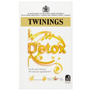TWININGS MORNING DETOX TEA BAGS (20 bags)