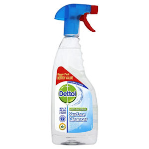 DETTOL SPRAY ANTI-BACTERIAL SURFACE CLEANSER (500ml) x 6