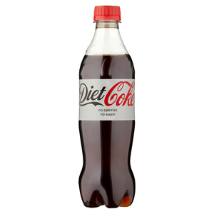 DIET COCA-COLA PLASTIC BOTTLES (500ml) x 24