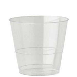 PLASTIC GLASSES CLEAR (4oz/114ml) x 1000