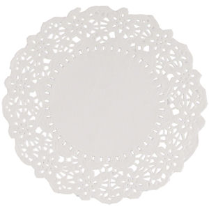 6.5in PAPER DOILIES WHITE x 250