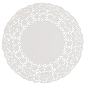 9.5in PAPER DOILIES WHITE x 250