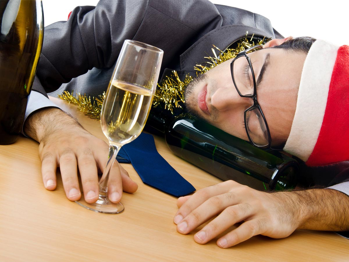 Don't drink to much on your Office Christmas Party