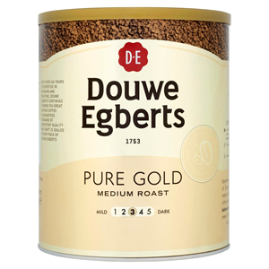 DOUWE EGBERTS PURE GOLD MEDIUM ROAST INSTANT COFFEE (750g)