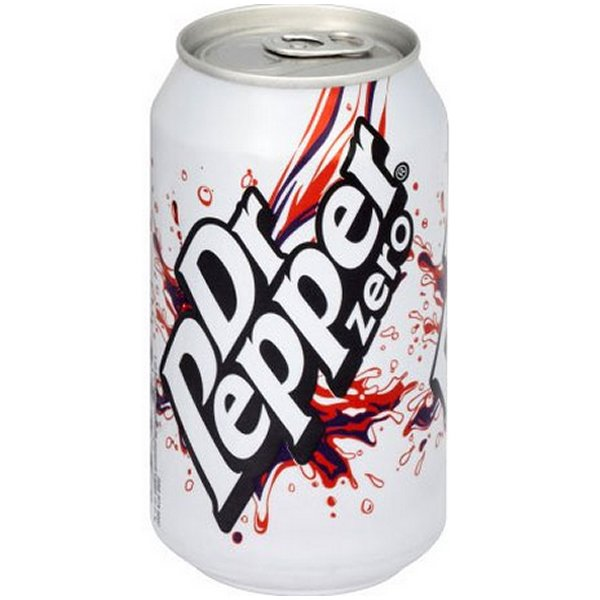 DR PEPPER ZERO CANS (330ml) x 24