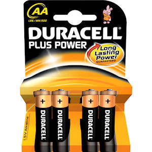 DURACELL AA BATTERIES (4-PACK) x 3