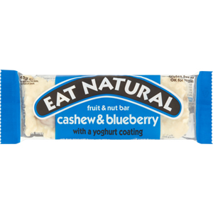 EAT NATURAL BARS CASHEW BLUEBERRY & YOGHURT (45g) x 12