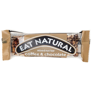 EAT NATURAL BARS COFFEE & CHOCOLATE (45g) x 12