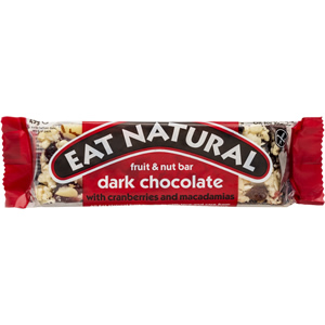 EAT NATURAL BARS CRANBERRY, MACADAMIA NUTS & DARK CHOCOLATE (45g) x 12