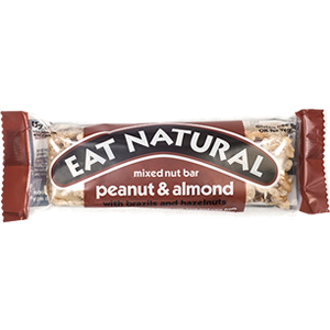 EAT NATURAL BARS PEANUT ALMOND & HAZELNUT (45g) x 12