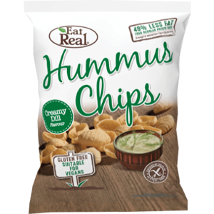 EAT REAL HUMMUS CREAMY DILL CHIPS (25g) x 24