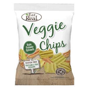 EAT REAL KALE VEGGIE CHIPS (40g) x 12