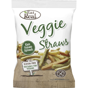 EAT REAL KALE, TOMATO, SPINACH & POTATO VEGGIE STRAWS (22g) x 24