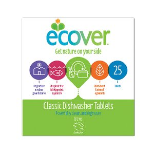 ECOVER CLASSIC DISHWASHER TABLETS CITRUS (25 TABLETS)