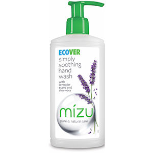 ECOVER MIZU SIMPLY SOOTHING HAND SOAP LAVENDER & ALOE (350ml) x 6