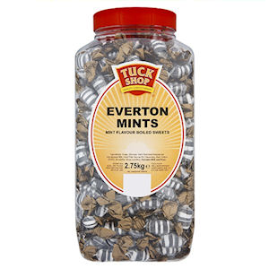 TUCK SHOP EVERTON MINTS TUB (2.75kg)