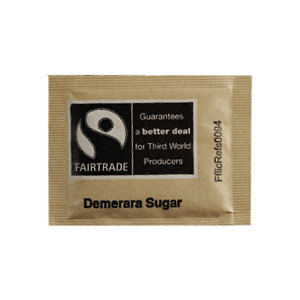 FAIRTRADE BROWN SUGAR SACHETS (3g) x 1000