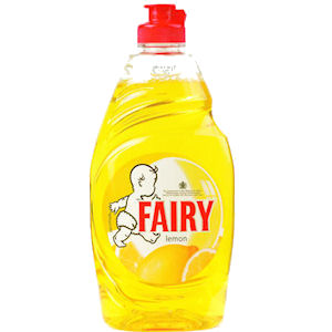 FAIRY LIQUID LEMON (433ml) x 20