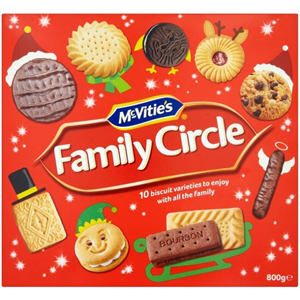 McVITIE'S FAMILY CIRCLE BISCUITS ASSORTMENT BOX (720g)