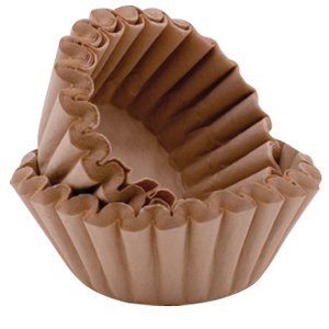 BREWMATIC UNBLEACHED FLUTED COFFEE FILTER PAPERS x 50