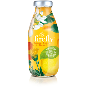 FIREFLY LEMON, LIME & GINGER (330ml) x 12