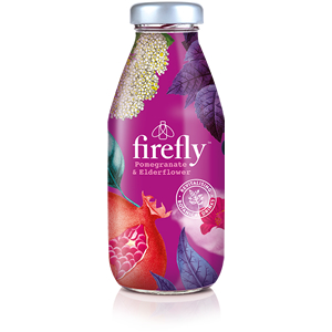 FIREFLY POMEGRANATE & ELDERFLOWER (330ml) x 12
