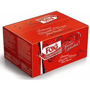 FOX'S SPECIALITY BISCUITS CATERING SELECTION (360g) x 4