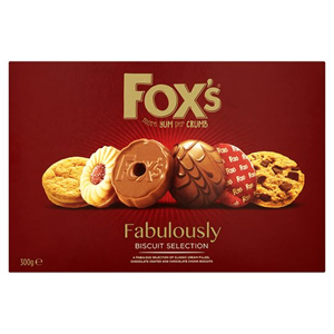FOX'S FABULOUSLY SPECIAL BISCUITS ASSORTMENT BOX (300g)