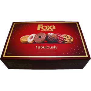 FOX'S FABULOUSLY SPECIAL BISCUITS ASSORTMENT BOX (550g)