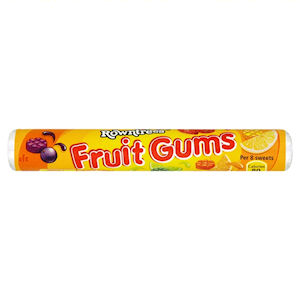 ROWNTREE'S FRUIT GUMS (48g) x 36